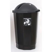 VFM Black Recycling Paper Bank