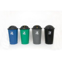 Plastic Bottle Bank Black 347576
