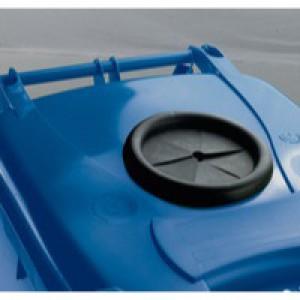 Blue Wheelie Bin 360L Bottle Lid Lock
