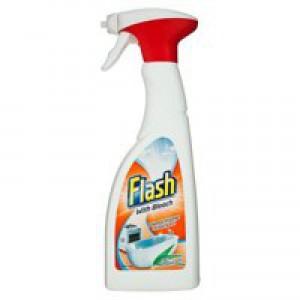 Flash Clean and Bleach Spray 750ml