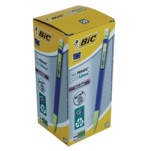 Bic Matic Ecolution Mechanical Pencil with 3 x HB 0.7mm Lead Ref 8877191 [Pack 50]