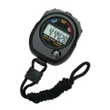 Image for Stopwatch Water Resistant Battery Operated Black