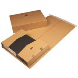 Brown 300x215x90mm Mailing Box Pk20