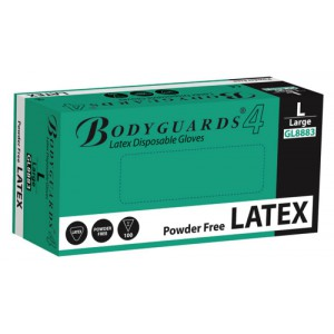 Latex Gloves Powder Free Disposable Medium [50 Pairs]