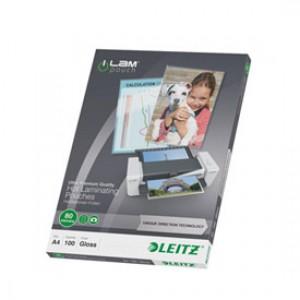 Leitz iLAM Premium Laminating Pouch A4 160 Micron (100) 74780000