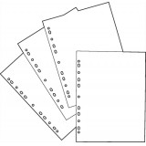 Image for Basics Pockets Multi Punched 36 Microns A4 Clear [Pack 100]