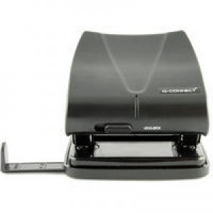 Q CONNECT HOLE PUNCH STD DUTY BLACK