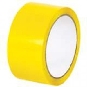 Yellow Poly Tape 50mmx66m Pk6