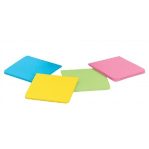 Post-it Full Adh NoteAstd Pk4 F330-4SSAU