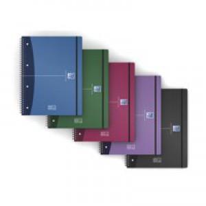 Oxford A4+ Wirebound Movebook Pk5