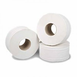 2Work Mini Jumbo Roll 2 Ply Pk12