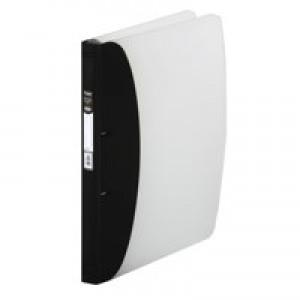 Hermes Hvy Duty Ring Binder A4 Black