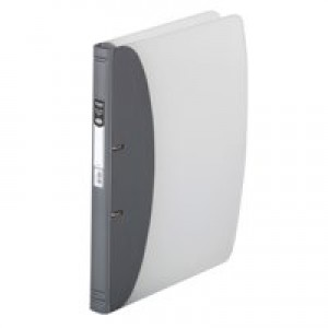 Hermes Met.Slvr A4 Ring Binder Hvy Duty