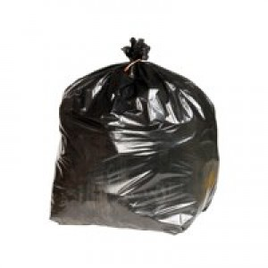 Image for 2Work Refuse Sacks Xtra Hdty Pk200 Blk (0)