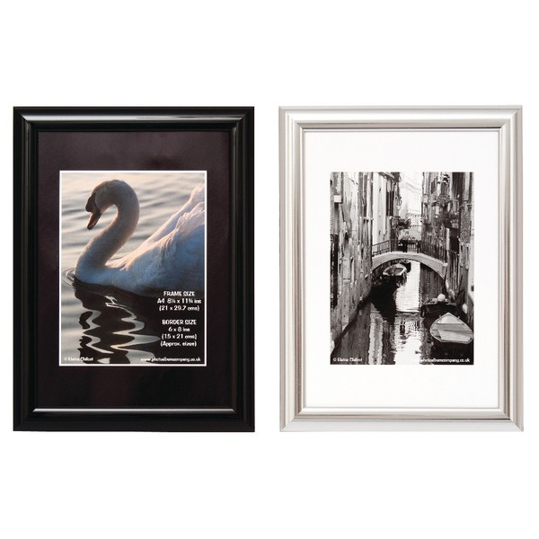 TPAC Photo Certificate Frame A4 Black