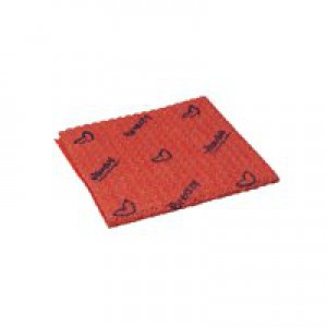 Vileda Breazy Red Microfibre Cloth Pk20