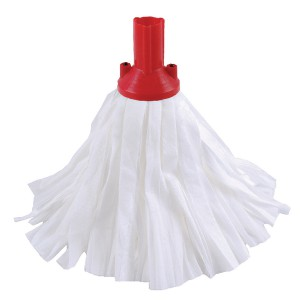 Contico Std Big White Exel Mop Red Pk10