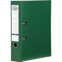 Elba 70mm Lever Arch File PVC Green A4