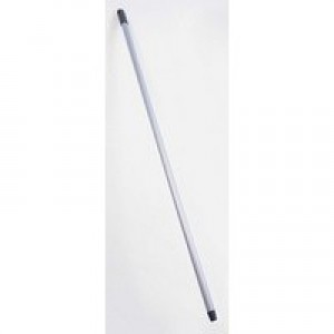 Addis Metallic Silver Broom Handle