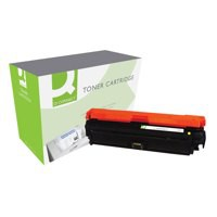 Q-Connect HP 650A Yellow Toner CE272A