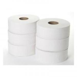 2 Ply Jumbo Toilet Roll Pk6