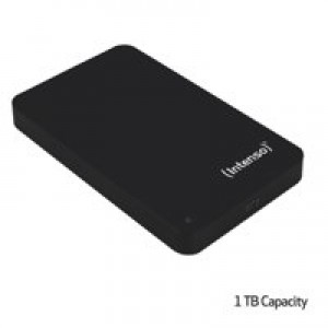 Intenso Black USB 1TB Hard Drive