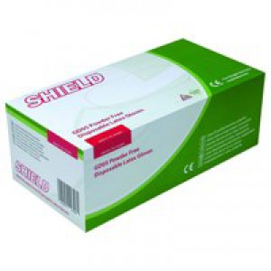 Shield Powder Free Size M Glove Pk100x10
