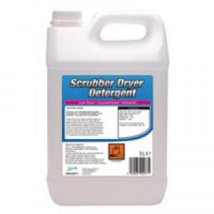 2Work Scrub Dryer Detergent Low Foam 5Lt