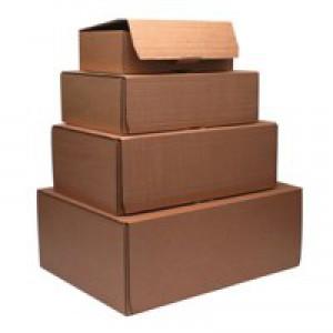 Mailing Box 460x340x175mm Brown Pk20
