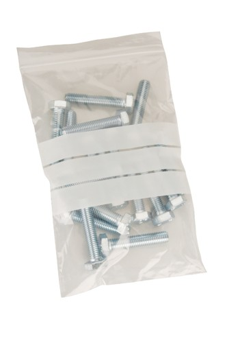 Polythene Bags Resealable Grip Seal 40 Micron 200x280mm [Pack 1000]