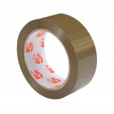 Image for Business Packaging Tape Polypropylene 38mm x 66m Buff [Pack 12]