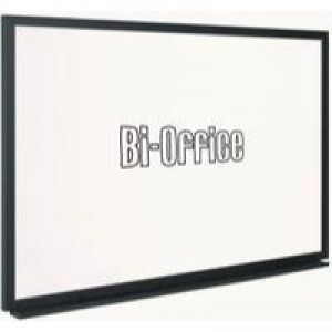 Bi-Office 900x600mm Blk Frame Whiteboard