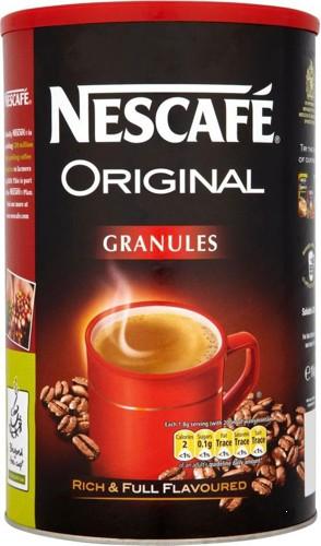 Nescafe Original Instant Coffee Granules Tin 1kg Ref 12284049