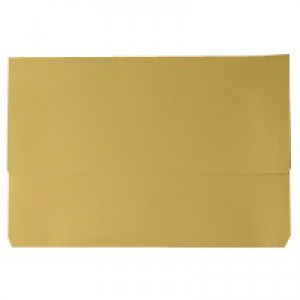 White Box Yellow Document Wallet Pk50