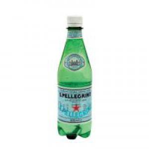 San Pellegrino Sparkling Mineral Water Bottle 500ml [Pack 24]