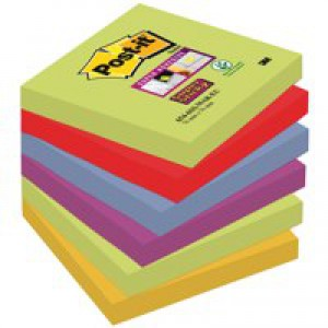 POSTIT SP STICKY 76X76MM MARRAKESH P6
