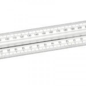 Finger Grip Ruler Pk10 FGR10
