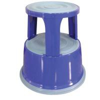 Q-Connect Blue Metal Step Stool