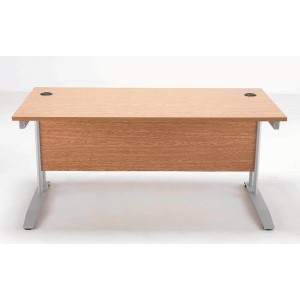 Image for FF Arista 1200mm Rectangular Desk Maple (1)