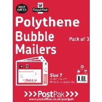 Polythene Size 0 Bubble Mailer Pk13