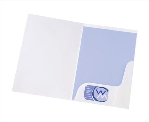 5 Star Pres Folder White Gloss WB100410