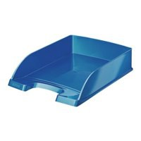 Leitz WOW Letter Tray Stackable Met Blue