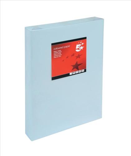 5 Star Tint A3 80g Light Blue Pk500