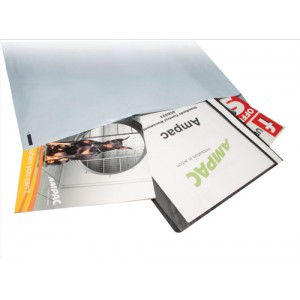 Keepsafe Envelope Extra Strong Polythene Opaque DX W595xH430mm Peel & Seal Ref KSV-MO7 [Box 100]