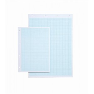Silvine Student Graph Pad 90gsm 1mm 5mm 10mm Grid 30 Sheets A3 Ref A3GP1510