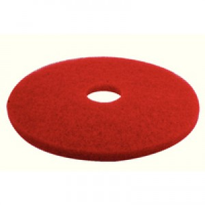 Image for 3M Floor Pads 17in 430mm Red Pk5