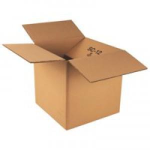 Corrugated Box Double Wall 0201 120T/BC/T 305 x 305 x 305mm (12 x 12 x 12) Pack 15