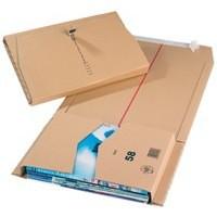 Mailing Box 330x250x80mm Brown Pk20