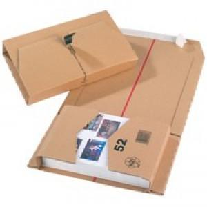 Mailing Box 251x165x60mm Brown Pk20