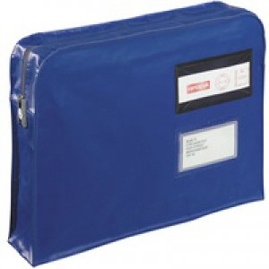 GoSecure Blue Gusset Mailing Pouch VFT3